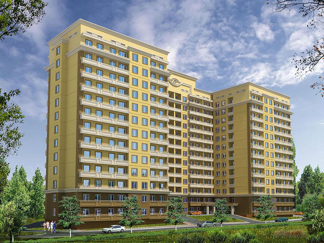 Жилой комплекс на пересечении ул. Минина - Маркова